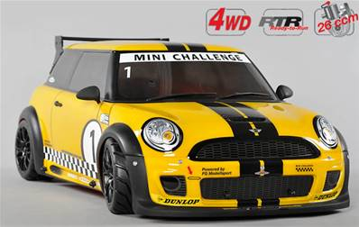 MINI COOPER FG CHALLENGE 4 WD TROPHY (5 options)