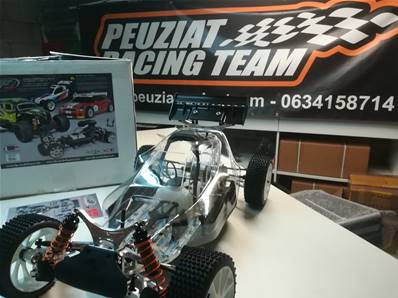 KIT LEOPARD FG 2WD version 2020 V2 SANS MOTEUR