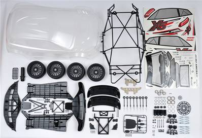 Kit de conversion de RR5 vers XR5 FT Spec France