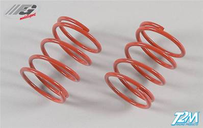 RESSORTS ROUGES COURTS (2.5mm) DIAMETRE 24 (2pcs)