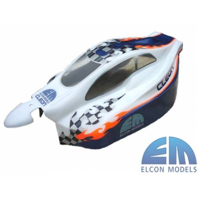 CARROSSERIE ELCON MMX COURTE TRANSPARENTE